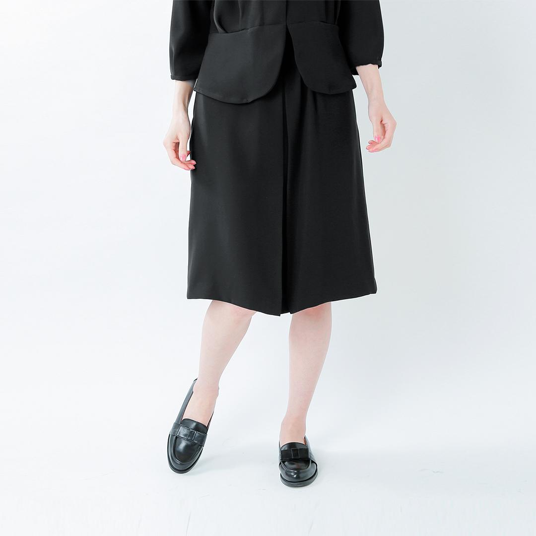 Si-Si-Si(スースースー)aranciato別注 とろみウエスト太ゴムスカート 16-aw031