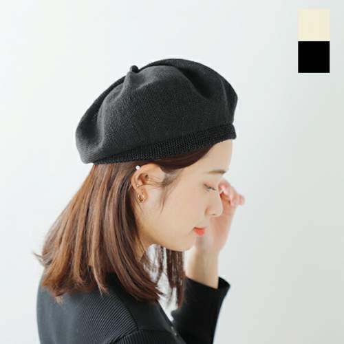 mature ha.(マチュアーハ) トップギャザーリネンベレー mlk-01-hm