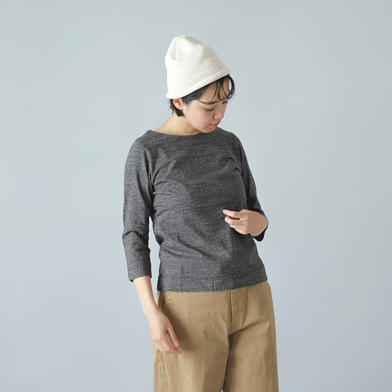 KINOTTO(キノット) タンギス綿7分袖ボートネックTシャツ 2201c001