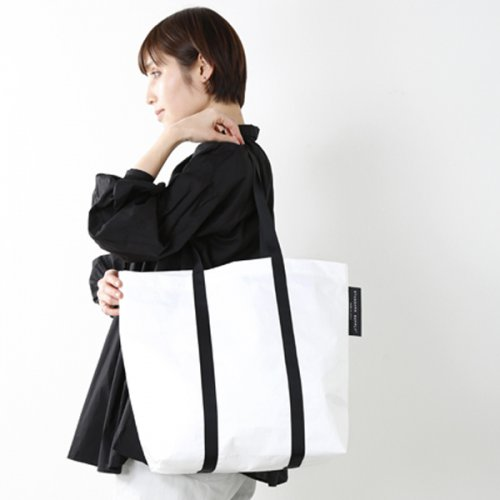 "【2018ss新作】STANDARD SUPPLY(スタンダードサプライ)<br />ポリエチレントートバッグ""STABLE"" stable-tote-yh"