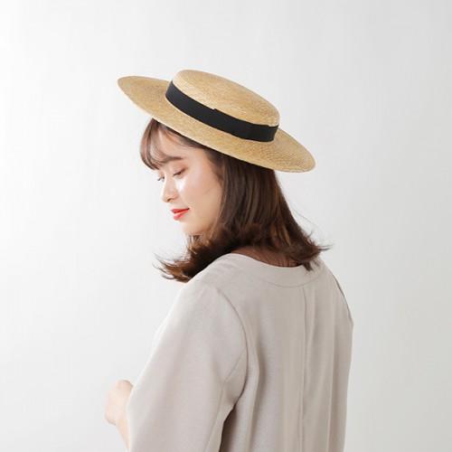 """mature ha.(マチュアーハ)6mmブレイドストローハット""""6mm brade straw hat short"""" mst-0106-tr"""