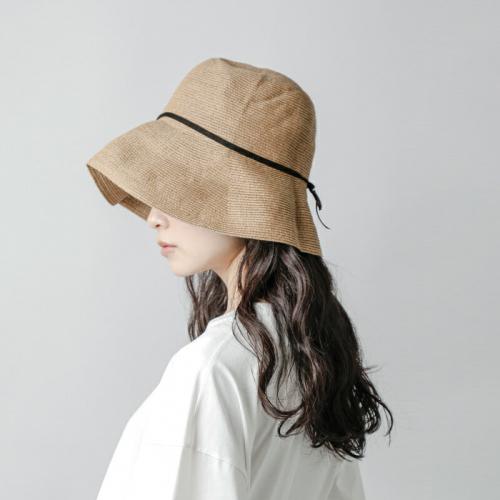 """mature ha.(マチュアーハ)ペーパーブレイドライトハット""""paper brade light hat wide"""" mpb-01w-yh"""