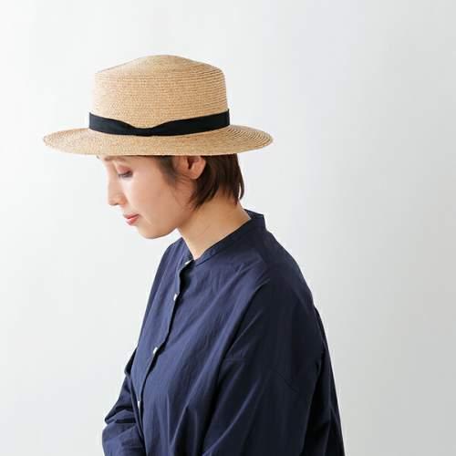 mature ha.(マチュアーハ)ラフィアカンカン帽 mas19-14-mm