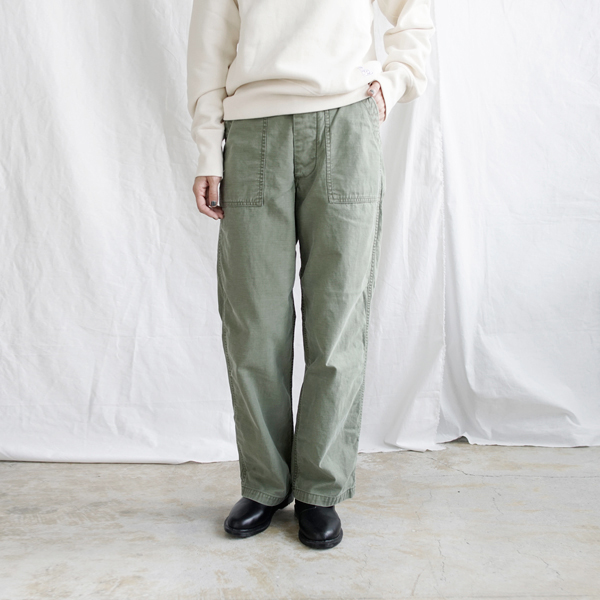 【2019aw新作】DAILY WARDROBE INDUSTRY(デイリーワードローブインダストリー)<br />コットンベイカーパンツ baker-pants