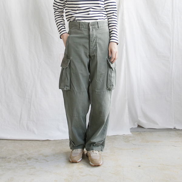 【2019aw新作】DAILY WARDROBE INDUSTRY(デイリーワードローブインダストリー)<br />M-47コットントラウザーズパンツ daily-m47-trousers