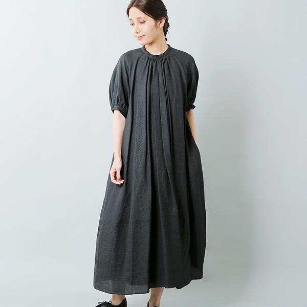 susuri(ススリ) リネンシルクピオニードレス 20-213