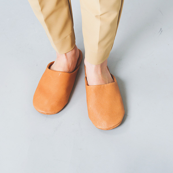 "sonor(ソナー)<br />ピッグスキンスリッパ""SLIPPERS LADY"" slippers-lady"