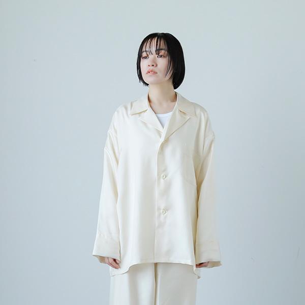 "Olde H & Daughter(オールドエイチアンドドーター) シルクラウンジシャツ""SILK LOUNGE SHIRTS"" lg001"